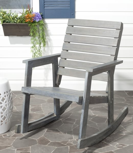 Alexei Rocking Chair Ash Grey