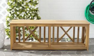 Branco Bench Natural Brown