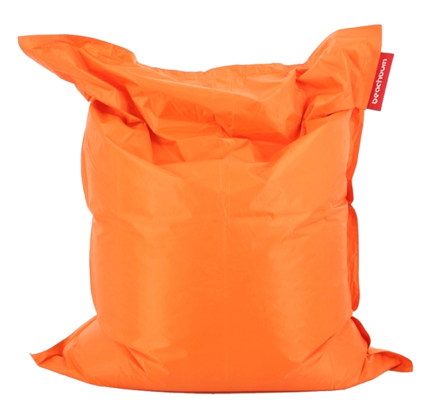 Small Outdoor Bean Bag Orange