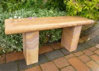 Rainbow Stone Straight Surrey Bench 100cm L Garden Furniture