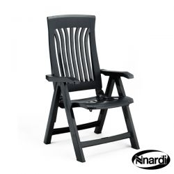Folding Flora Chair in Anthracite