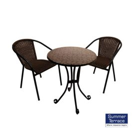 Fleuretta Bistro Table with San Luca Chairs Set