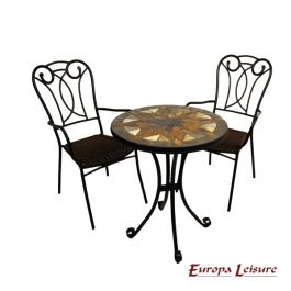 Montilla Bistro Table with 2 Verona Chairs Set