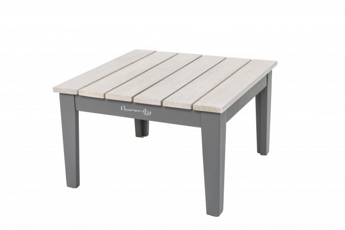 Florenity Grigio Eucalyptus Wood Grey Side Table