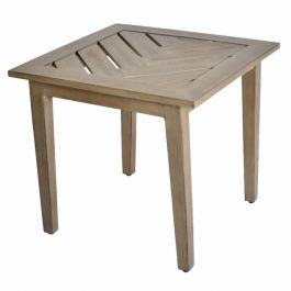 Encore Square End Table 60cm (24