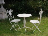 Napoli Bistro Table and Chairs Set - 60cm Diameter