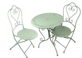 Loire Bistro Table and Chairs Set - 60cm Diamter