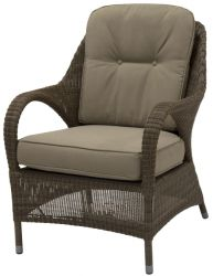 Sussex High Back Living Chair with 2 Cushions
