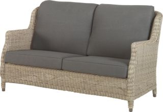 Brighton 2 Seater Sofa with 4 Cushions