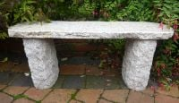 Worcester Bench 100cm L Beige Granite Garden Furniture