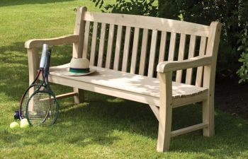 Solid Oak Bench W4.9ft x H3ft