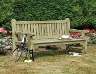Softwood Bench W4.9ft x H3ft