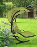 Helicopter Swing Seat in Green H190cm
