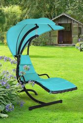 Helicopter Swing Seat in Turquoise H190cm