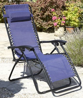 Pair of Anti Gravity Chairs in Blue