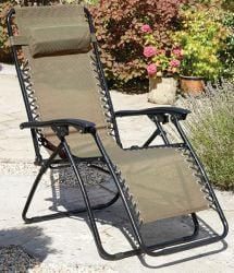 Pair of Anti Gravity Chairs in Copper