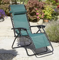 Pair of Anti Gravity Chairs in Green