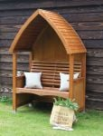 Chestnut Stain Cottage Arbour