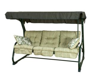 Pendulum Swinging Day Bed - Cotswold Stripe