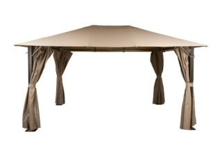 Venice Heavy Duty Rectangle Gazebo 3x4m - Beige