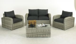 Henbrook 4 Piece Rattan Sofa Set