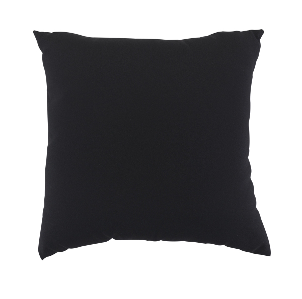 "Scatter Cushion 18""x18"" Black"