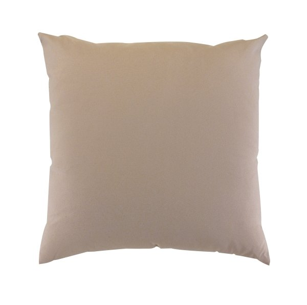 "Scatter Cushion 18""x18"" Cream"