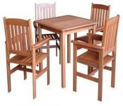 Oakham 4 Seater Hardwood Garden Furniture Set by Liz Frances™