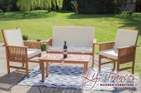 Chesham Hardwood Garden Sofa Set by Liz Frances™