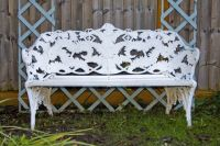Coalbrookdale Bench White