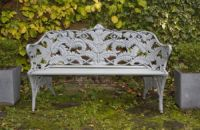 Coalbrookdale Bench Blue/Grey