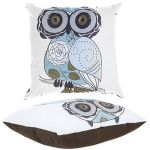 Purple Owl Scatter Cushion by Gardenista