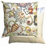 Multi-coloured Floral Scatter Cushion by Gardenista