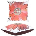 Red Daisy Scatter Cushion by Gardenista