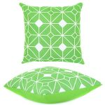 Lime Tangiers Scatter Cushion by Gardenista
