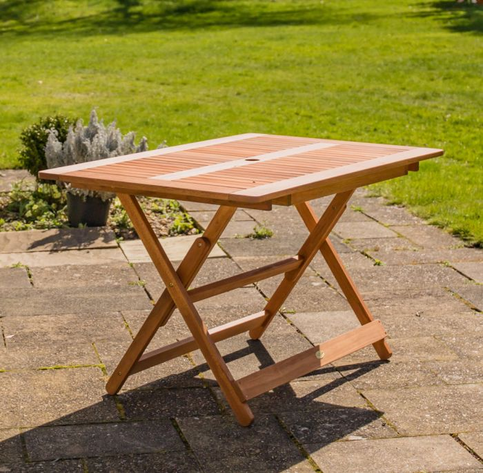Cottingham Wooden Folding Table - by Liz Frances™