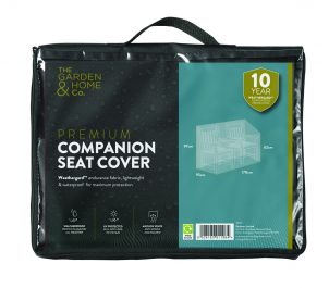Gardman 170cm x 95cm Companion Seat Furniture Cover - Black