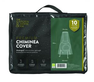 Gardman 100cm x 60cm Chiminea Cover - Black