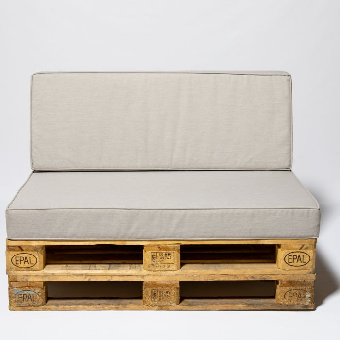 Garden Furniture Grey Pallet Cushions - Seat and Back £99.99