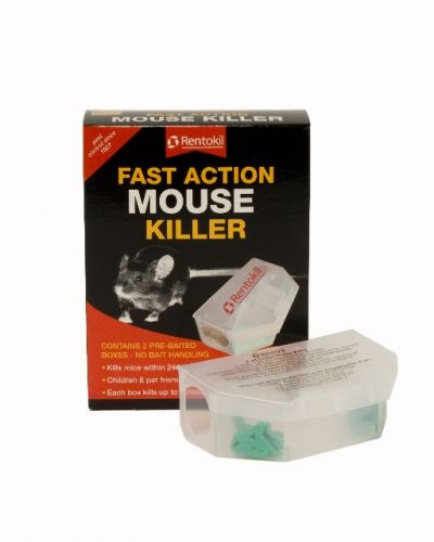 Fast Action Mouse Killer Twinpack
