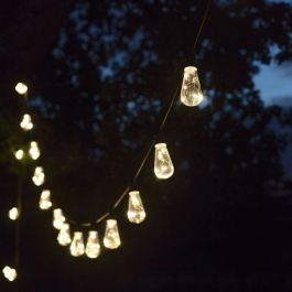 Festoon Outdoor String Lights Squirrel 20 LED Bulbs