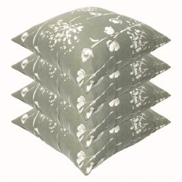 Renaissance Grey Outdoor Scatter Cushion 45x45cm - Pack Of 4