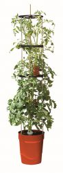 1.5m Self Watering Grow Pot Tower in Red