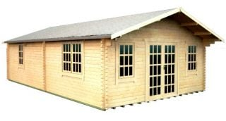 The Kensington Log Cabin 30x18