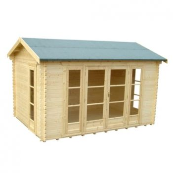 The Bamber Log Cabin 14x10