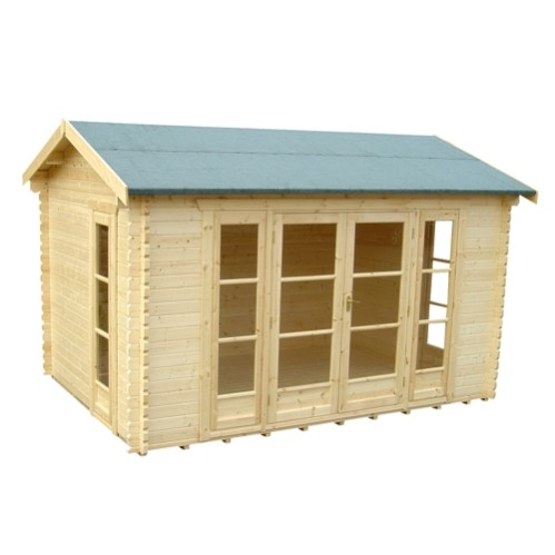 The Bamber Log Cabin 14x12