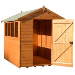 Super Apex Shiplap Shed 8x6