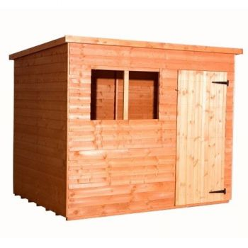 Budget Pent Overlap Shed 6x4