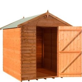 Value Apex Overlap Shed 6x4