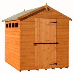 Security Apex Shiplap Shed 10x6